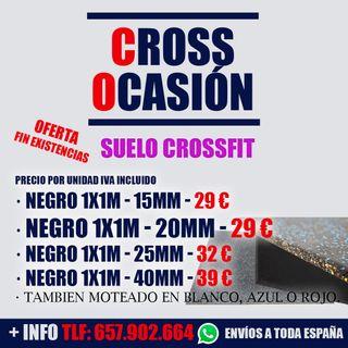 Suelo Losetas Crossfit y gimnasio