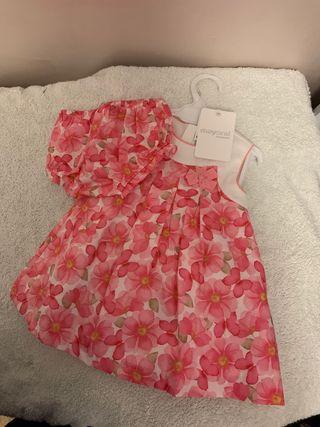 Vestido niña 4/6 meses