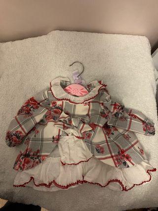 Vestido Miranda 3 meses niña