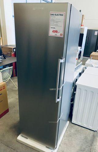 Congelador vertical 1 puerta 186x60 cm A++ Inox