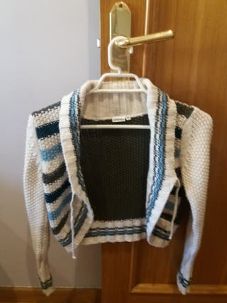 Chaqueta corta de lana Dodipetto talla 10 años