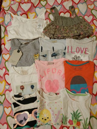 Lote camisetas Talla 3 años