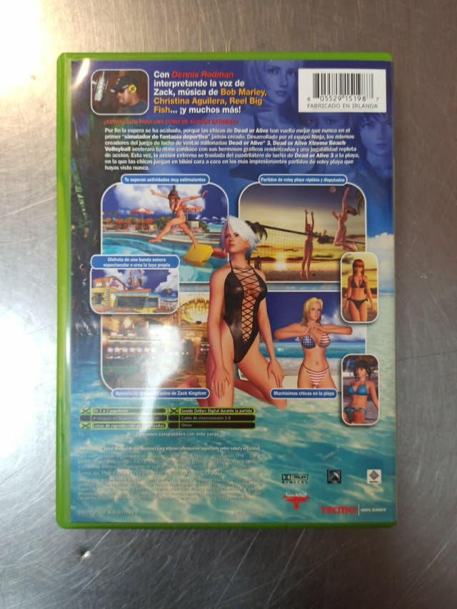 Dead or Alive Xtreme Beach Volleyball, Xbox