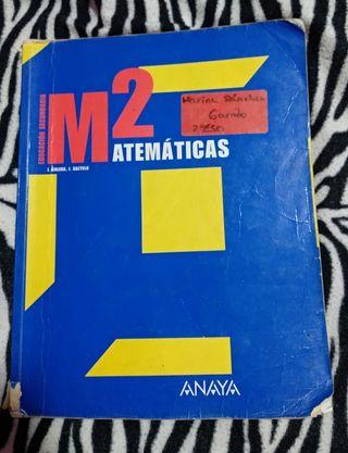 M2 matemáticas Anaya secundaria