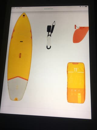 "PADELSURF HINCHABLE 11"" de DECATHLON"