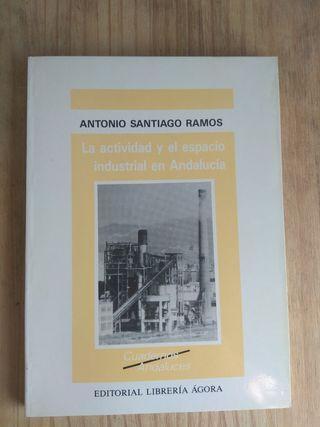 La actividad y el espacio industrial en Andalucia