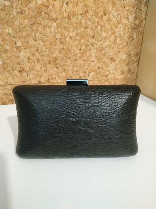 Bolso de mano negro 5€