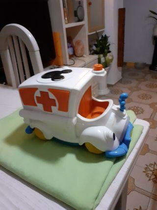 Coche Ambulancia de Disney