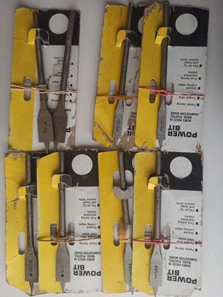 Brocas de paleta para madera y plástico
