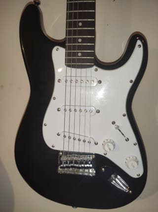Guitarra eléctrica fender squier mini