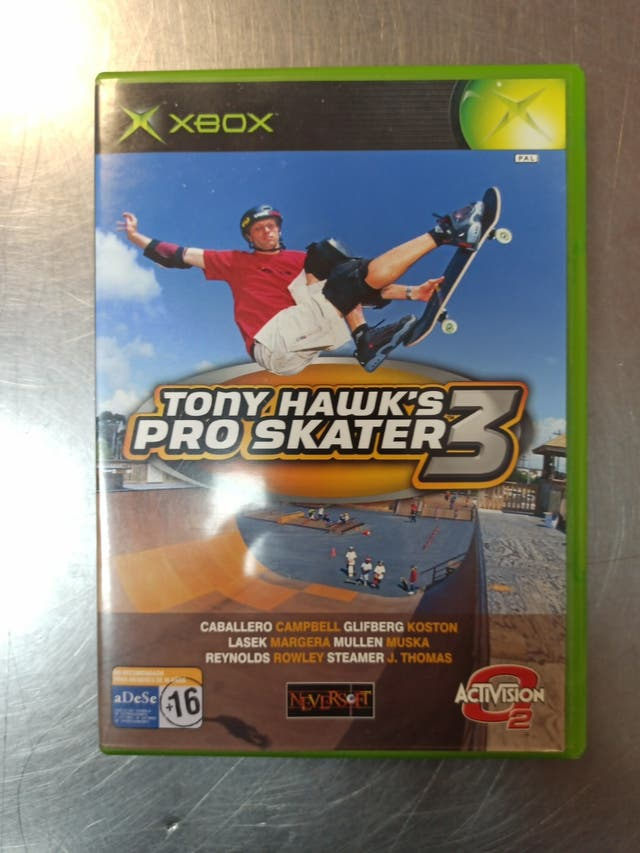 Tony Hawk Pro Skater 3, Xbox