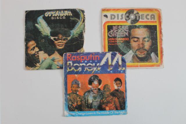 Set 3 singles música negra.