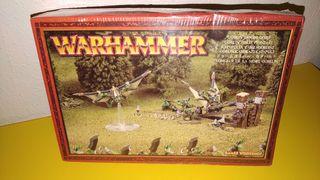 Lanzagoblins de los Orcos, Warhammer