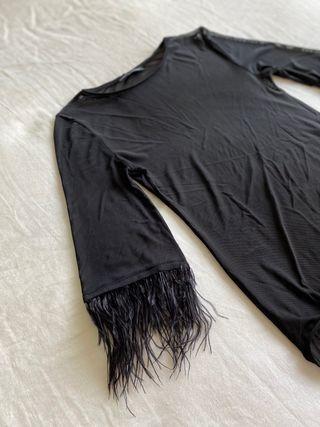 Body negro de Zara