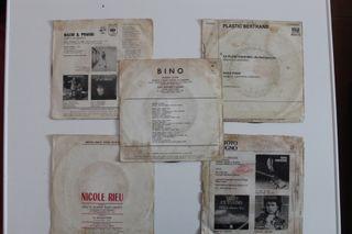 Set 5 singles música francoitaliana
