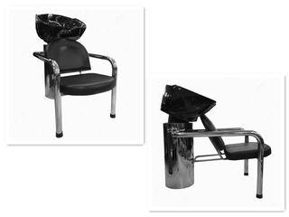 Lavacabezas para peluquería con silla incorporada
