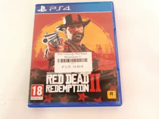 Ps4 Videjuego Red Dead Redemption II (LEER)