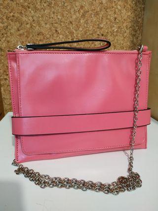 Bolso rosa 5€