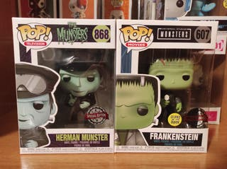 funko pop Herman munster 868 Frankenstein 607