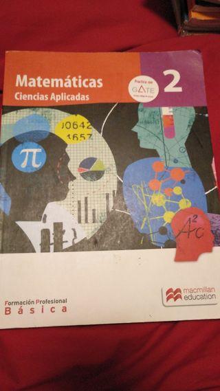 Matemáticas ciencias aplicadas fp