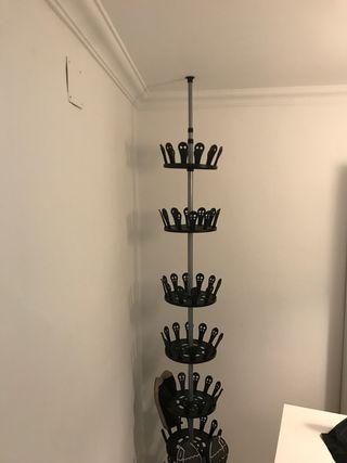 Zapatero columna 48 pares de zapatos