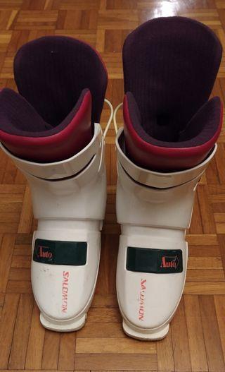 Botes esqui Salomon
