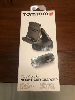 Soporte y cargador de coche TomTom
