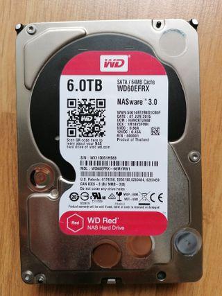 Western Digital Red 6 TB NAS Disco duro interno