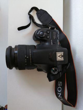 Cámara Reflex Sony Alpha A58