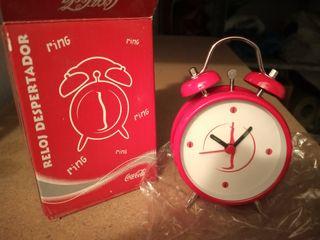 Reloj despertador COCA-COLA.