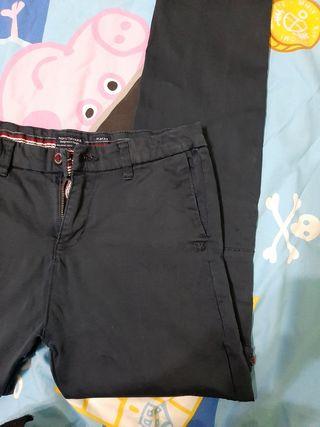 lote pantalón y niqui talla 14(160 cm)