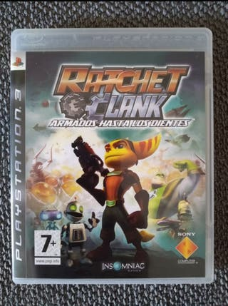 """Ratchet and Clank """"Armados hasta los dientes"""""""