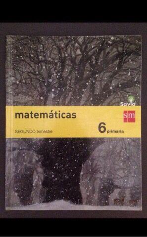 Matemáticas 6 Primaria ( 2 Trimestre )