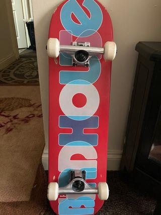 Complete birdhouse skateboard