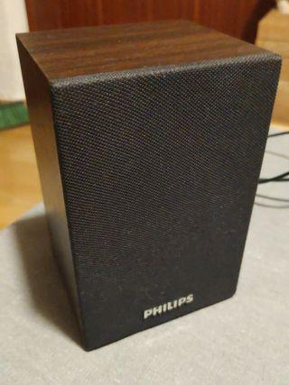 Altavoces retro Philips usb