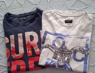 lote de 3 camisetas niño 160 cm