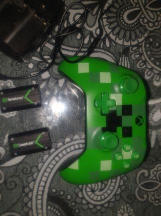 mando xbox one o pc minecraft con bateria