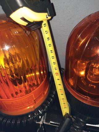rotativo tractor camión hella luz emergencia