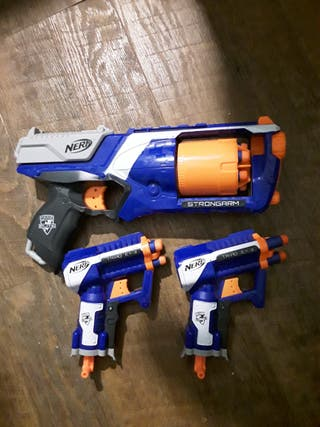 Pistolas nerf élite