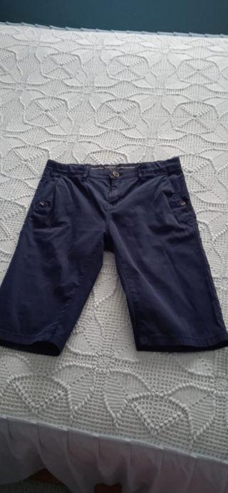 lote pantalón corto y niqui talla 15 años