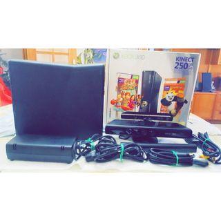 Xbox 360 + disco duro + mando + kinect +
