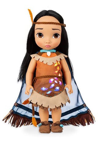 Pocahontas animators disney collection little