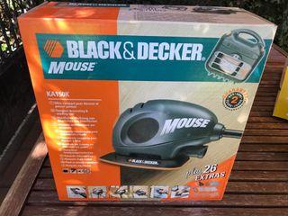Lijadora black & decker mouse