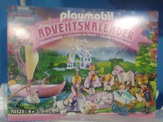 PLAYMOBIL 70323 CALENDARIO NAVIDAD PRINCESAS