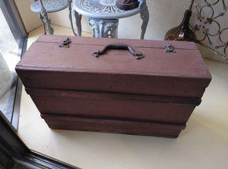 Antigua maleta siglo XIX