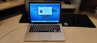 MacBook Pro 13 Retina Corei5,8GB,SSD 240GB.
