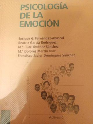apuntes Psicología de la emoción UNED