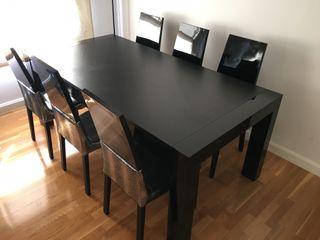 Mesa de Comedor extensible de hasta 12 Pax
