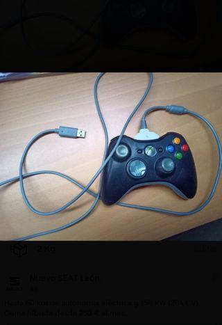 Mando Xbox + cable de carga + batería