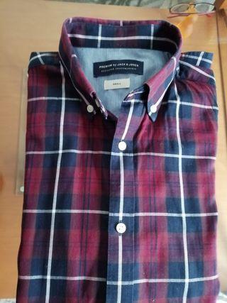 Camisa cuadros hombre Jack & Jones